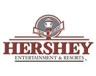Weatherproof digital signage at Hershey Park theme park
